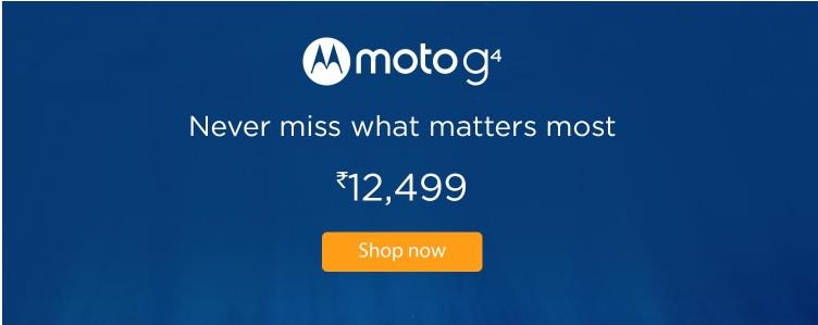 Moto G4 Amazon Exclusive